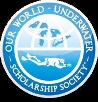 Our World - Underwater Scholarship Society Logo